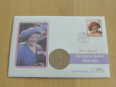 1980 Queen Mother Crown Coin First Day Cover