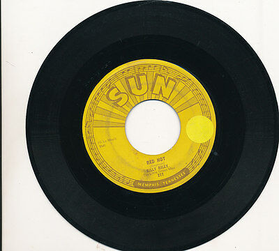 "7"" - Billy Riley - Red Hot / Pearly Lee - Sun 277 - Us 1957"