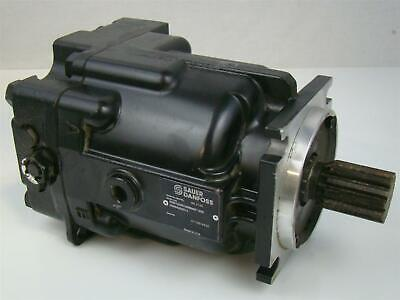 Sauer Danfoss Axial Piston Hydraulic Motor 1.74 Shaft R90M100Nc0N8N0F1