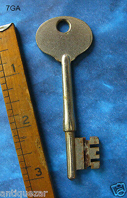 GENUINE Antique Skeleton Key From Asylum Mental Hospital Sanitarium COA Ghost