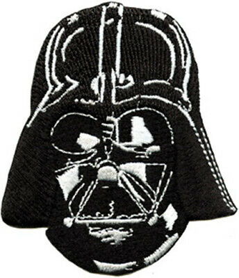 Star Wars Darth Vader Head and Mask Embroidered Patch, NEW UNUSED