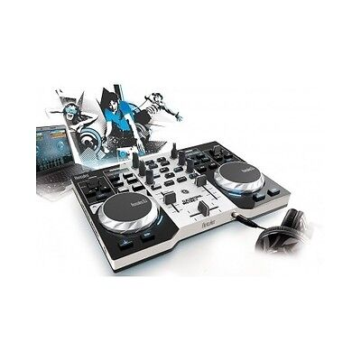 USB DJ Mixer Party Music System Mixing Controller Scratch Decks with Software