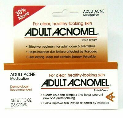 Acnomel Adult Acne Medication Cream - 1.3oz- Expiration 11-2020