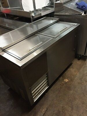 Leader NSFB-48 48inch Bottle Cooler Stainless Steel