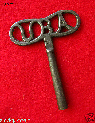 Rare UBA Dragon Fly Shaped Antique Old Clock Key Cuckoo Steampunk Skeleton Keys