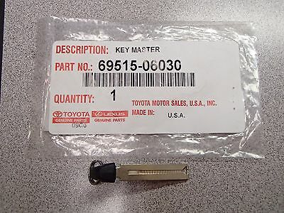Genuine OEM Toyota 2013-2018 Smart PROX Emergency Key Blade 69515-06030 HYQ14FBA