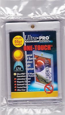ULTRA PRO 55pt ONE-TOUCH MAGNETIC CARD HOLDER UV PROTECTION ULTRA CLEAR