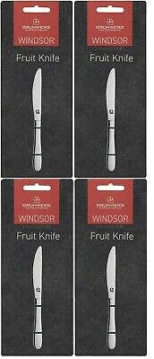 Windsor Fruit Knife By Grunwerg With Case Stainless Steel