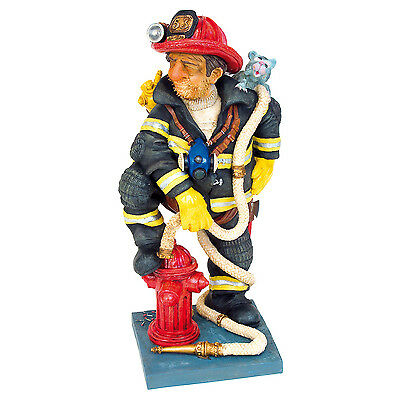 NEW The Firefighter Figurine