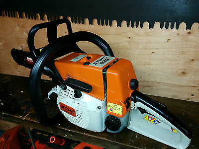 Stihl 026 Chainsaw With 16 Tsumura Light Bar 3/8Th Chain Excellent Runner Ms260