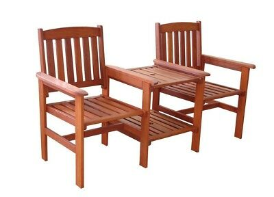 NEW Jack & Jill Timber Double Chair