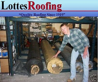 10' x 55' 90 MIL BLACK EPDM RUBBER ROOFING BY THE LOTTES COMPANIES