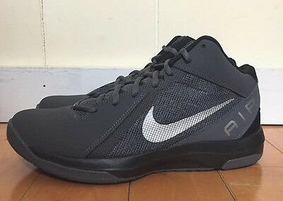6e45e27de679 Nike Basketball Air Overplay 9 Nbk Dark Grey Black Size 7.5-13 831574-003