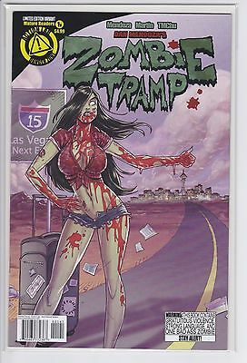 Zombie Tramp #1 (variant cover) Limited to 1000, Ongoing 2014 Action Lab VF/NM
