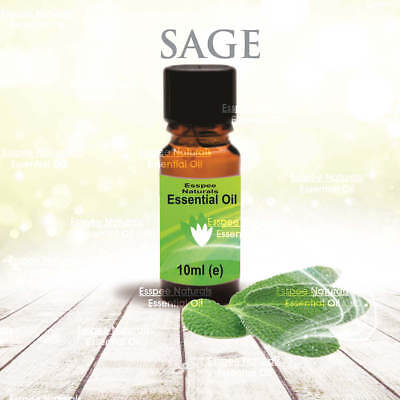 Sage Essential Oil 10ml - 100% Pure - For Aromatherapy & Home Fragrance