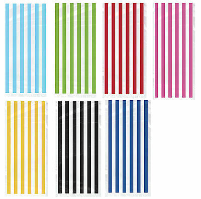 Pk 20 Striped  Cello Party Loot Bags Gift Sweet Treat Candy Party Bag
