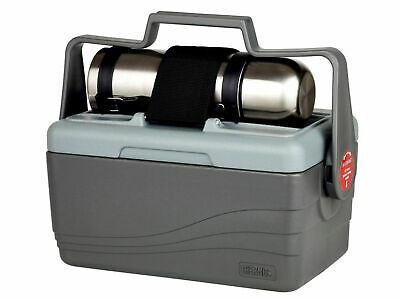 NEW THERMOS LUNCH LUGGER 6.6L + 1L FLASK Insulated Cooler Container Box