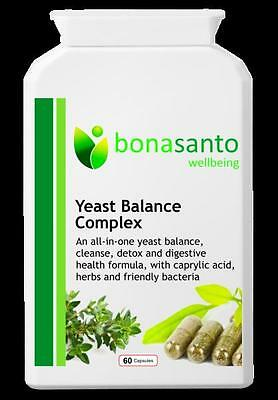 Yeast Balance Complex - detox and fight Candida overgrowth