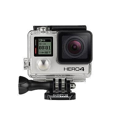GoPro Actionkamera HERO 4 Silver Cam Full HD WiFi 1080p Actioncam Kamera