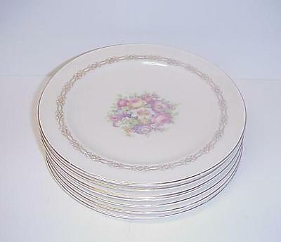 Edwin Knowles Lunch Plates Set 7