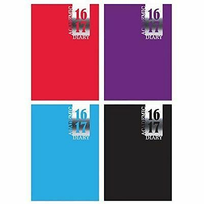 2016 2017 Mid Year Academic A5 Student Diary Casebound Week To View Planner 3195