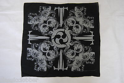 Trivium T Skulls Logo Bandana New Official In Waves Ascendancy Shogun Crusade