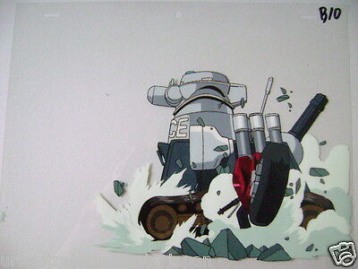 Dominion Tank Police Masamune Shirow  Anime Production Cel 5