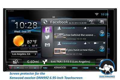 Tuff Anti-glare Protect Screen Protectors for Kenwood eXcelon DNN992 (2pcs)