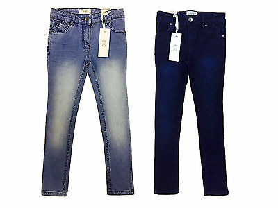 New 'French Connection' Girls Kids Slim Denim Jeans Trouser Size 2 - 15 Years
