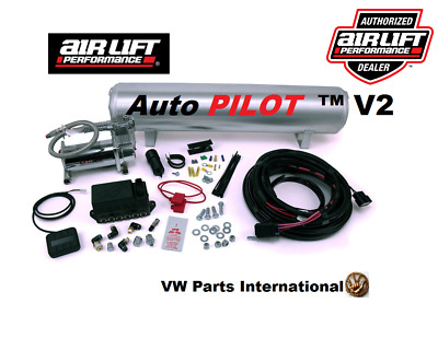 VW Golf MK3 GTI VR6 Air Lift Auto Pilot V2 Air Ride Suspension Management 3/8""