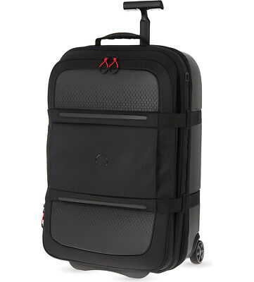 NEW Delsey Montsouris 55cm Carry On Hybrid Luggage - Black