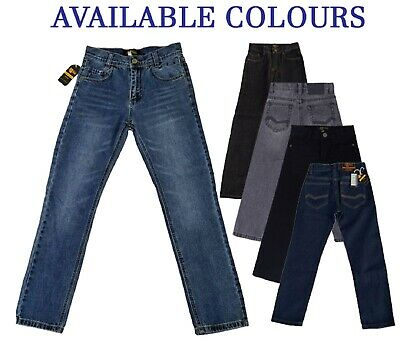 Classic Boy Jeans Denim Blue Black Trouser  2 3 4 5 6 7 8 9 10 11 12 13 14 15 16