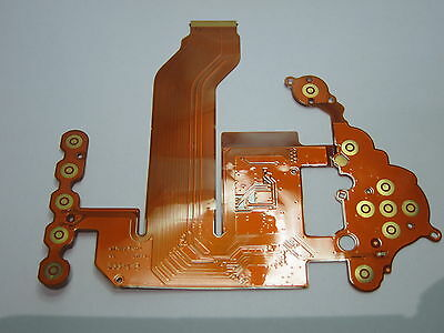 REPAIR PARTS FOR Nikon D3100 Rear Cover Connection LCD Button FPC Flex Cable