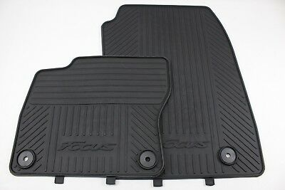 "Original Floor Mats (Rubber) Front Ford Focus Yr 1/2015 - 9/2016 ""1914006"""