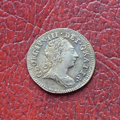 George III 1772 silver maundy penny
