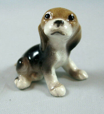 Hagen Renaker miniature Made in America Beagle pup dog