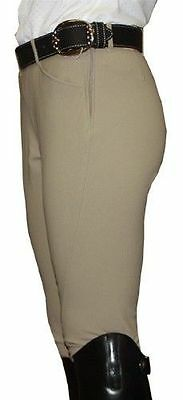 Tailored Sportsman GIRLS TS Low Rise Side Zip Riding Breeches sz 10-18 tan NWT