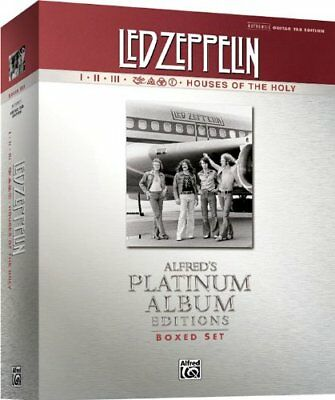 Led Zeppelin Jimmy Page Guitar Tab Song Book Box Set