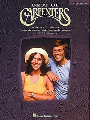 Best Of The Carpenters Easy Piano Sheet Music Song Book