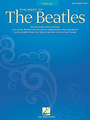 Best Of The Beatles Violin Sheet Music Song Book New