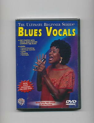 Learn To Sing Blues Vocals - Vocal Beginner *new* Dvd