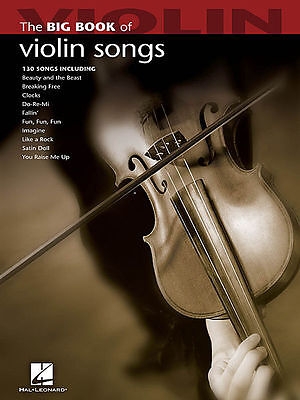 Big Book Of Violin Songs Sheet Music Songbook New