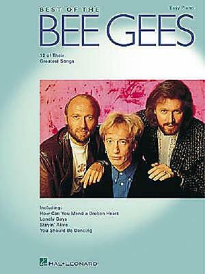 Best Of The Bee Gees Easy Piano Sheet Music Song Book