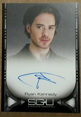 Stargate Universe SGU Autograph Card - Ryan Kennedy (Dr. Williams)