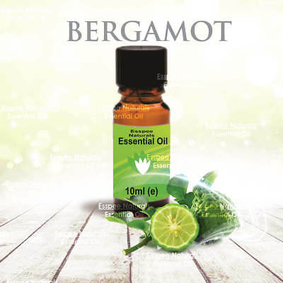 Bergamot Essential Oil 10ml - 100% Pure - For Aromatherapy & Home Fragrance