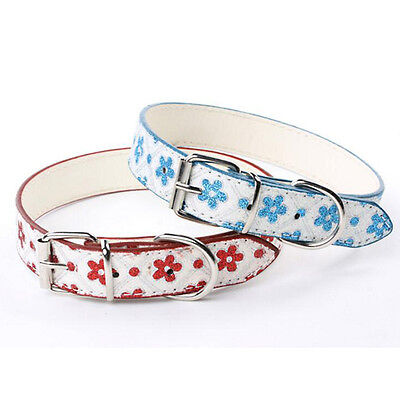 Neck Adjustable Leather Pet Collar Safety Puppy Cat Collars For Dogs Pets Collar