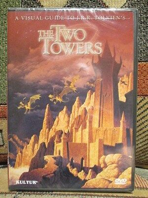 Visual Guide to J.R.R. TOLKIEN's  The TWO TOWERS - SEALED / NEW  DVD  lotr