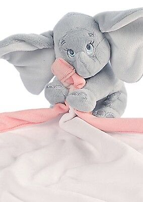 AUTHENTIC DISNEY Dumbo Pink Plush Blankie for Baby NIB
