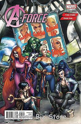 A-Force#5 (2016) 1St Printing Hetrick The Story Thus Far Variant Cover