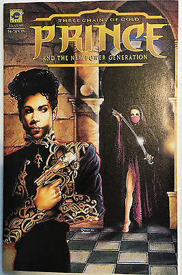 Prince And The New Power Generation: Three Chains Of Gold #1 (1994)Piranha Press